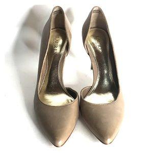 Lauren Ralph Lauren Leather Pointed-toe Pumps